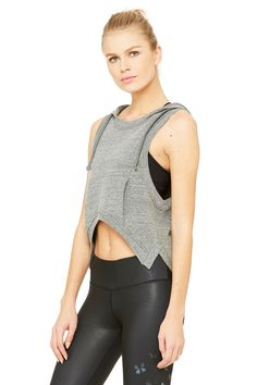 Gypset Goddess x Alo High Low Vest - Tanks - Tops - Women | ALO Yoga