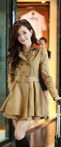 Light brown coat best for fall
