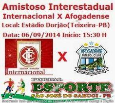 Portal Esporte São José do Sabugi: Internacional de Teixeira realiza mais um amistoso...