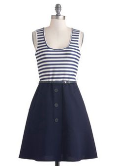 Stories of Sailing Dress, #ModCloth