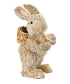 Celebrate the coming of spring by placing this darling bunny figurines on the mantel. Its quaint and charming details instantly breathe life into décor. Easter Holidays, Regency, Bunny, Teddy Bear, Invitations, Toys, Breathe, Bears, Baskets
