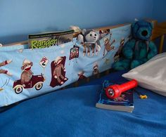 bunk bed storage pocket