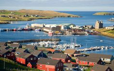 The tsunami's run-up height in the Shetland Island may have been more than (Credit: Credit: geogphotos/Alamy) Scottish Islands, Earth Homes, Tsunami, Climate Change, Geography, San Francisco Skyline, Britain, Scotland, Dolores Park