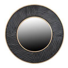 Καινούριες ιδέες, πάντρεμα διαφορετικών στυλ σε ένα μόνο αντικείμενο. Black Gold, Mirror, Home Decor, Products, Decoration Home, Room Decor, Mirrors, Home Interior Design, Gadget