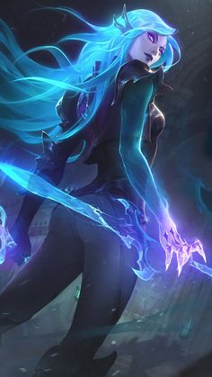 Katerina League of Legends hallows eve skin