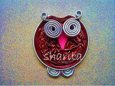 Broche búho nespresso muy fácil - Very easy owl brooch with nespresso capsules