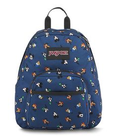 Small and light, the JanSport Half Pint is the perfect throw-on-and-go backpack. Cute Backpacks For School, Cute Mini Backpacks, Mochila Jansport, Jansport Backpack, Backpack Essentials, Disney Purse, Packing Clothes, Bags For Teens, Jordans Girls