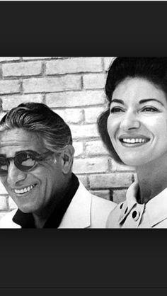 Aristotele Onassis & Maria Callas
