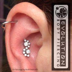 24 Ideas De Aretes Aretes Perforaciones Piercing
