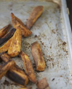 Baked to perfection sweet potato fries (baked)