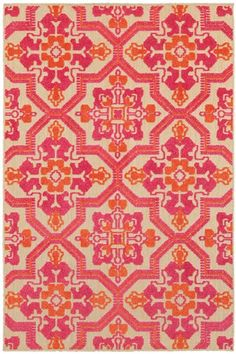 Great for Laub Oriental Pink Orange Indoor Outdoor Area Rug by Sol 72 Outdoor Rugs Home Decor Furniture from top store Area Rug Sizes, Blue Area Rugs, Maila, Polypropylene Rugs, Transitional Rugs, Indoor Outdoor Area Rugs, Outdoor Baby, Rugs Online, Joss And Main