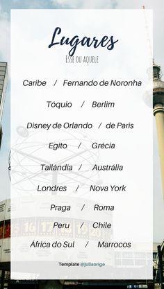 Blog De Viagem | Quem vai e quem fica | Templates de viagem