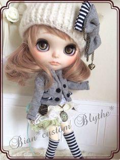 *カスタムブライス*customBlythe~チェシャgirl - ヤフオク!