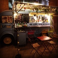 Bio (organic) wine food truck, steak and pintxos キッチンカー オーガニック ワイン ピンチョス