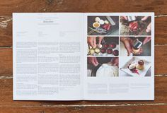 Great magazine lay-out, clean & stylish