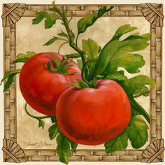 """Tomatoes"" ~ by Janet Stever"
