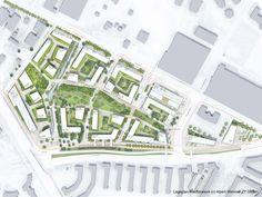 1st Prize: Werftdreieck Lageplan, © Albert Wimmer ZT GmbH