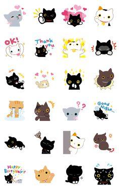 Line Kutsushita Nyanko Sticker