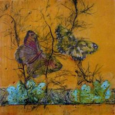 Encaustic ART, kdb Dominguez,