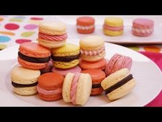 French Macarons Recipe | Dishin' With Di - Cooking Show *Recipes & Cooking Videos*