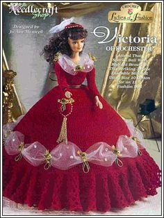 Barbie Crochet: Victoria Of Rochester - Pattern