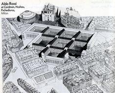 Aldo Rossi. Architecture D'Aujourd'Hui 207 Apr 1980: 18 - RNDRD