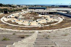 Complexos olímpicos abandonados