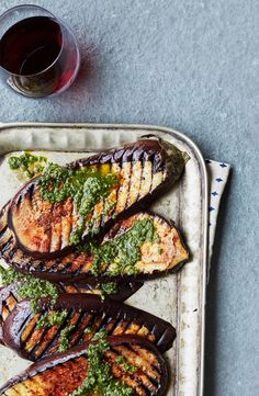 This argentinian chimichurri butter burger is simple and yet amazing grilled eggplant with spicy chimichurri recipe argentina recipesargentina foodwinter foodvegan forumfinder Image collections