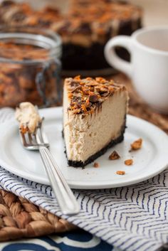 Peanut Butter Cheesecake - everything you love about cheesecake, plus a huge wallop of peanut butter flavor.