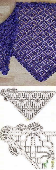 Kira scheme crochet: Scheme crochet no. 592