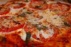 Pizza Margherita -- Cheesy, cheesy!  Mmmm!  Now at the new blog location:  italianbellavita.com