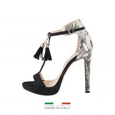 Sandalias Made in Italia Negro