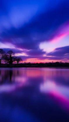 Gorgeous Purple Sunset!!