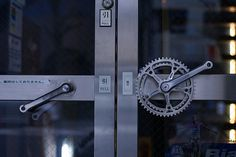 #bike #fixed #fixie #door