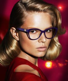 Anna Ewers + Stella Tennant in Additional Versace Fall 2014 Ads