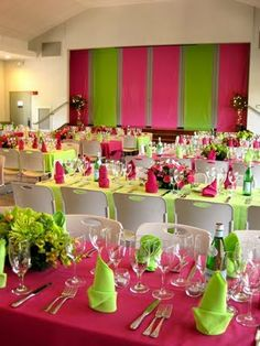 The Petite Soiree: Trend Thursday: Neon Party Decor