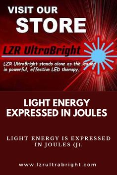 Notes on LED treatments, that the more damaging emissions, such as x-rays and ultraviolet light, are the shorter wavelengths emitting extreme powerful dosages. Led Therapy, Light Therapy, Joules, Self Love, Clinic, Anxiety, Depression, Psychology, Glow