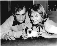 David McCallum and Jill Ireland