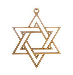 Star of David Ornament - Hanukkah Ornament - Hanukkah Gift - Hanukkah Decor - Hanukkah Decoration - Chanukah Gift - Jewish Star