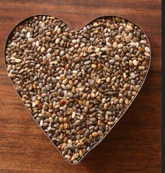 Chia Seeds  - complete protein  - help balance your blood sugar  - high in calcium  - may aid in weight loss