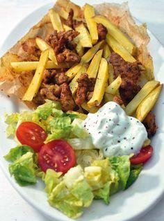 Břicháč Tom Cobb Salad, Tacos, Mexican, Fitness, Ethnic Recipes, Food, Essen, Meals, Yemek