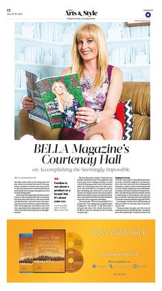 BELLA Magazine's Courtenay Hall on Accomplishing the Seemingly Impossible|Epoch Times #Arts #Beauty #newspaper #editorialdesign