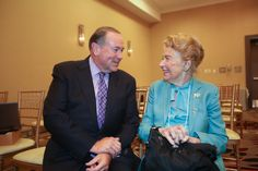 Governor Mike Huckabee and Phyllis Schlafly, 9-11-15