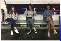 """Let These Parisian Teens School You On The Myth Of The """"French Girl""""+#refinery29…"""