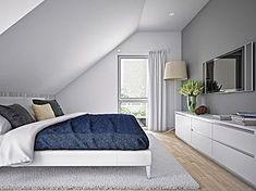 All For Decoration Attic Bedroom Designs, Bedroom Loft, Master Bedroom Design, Interior Design Living Room, Loft Design, Design Case, Slanted Walls, Bohemian Bedroom Decor, Pretty Room