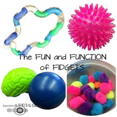 Do your students use fidgets in the classroom? Find out the fun AND function behind them!