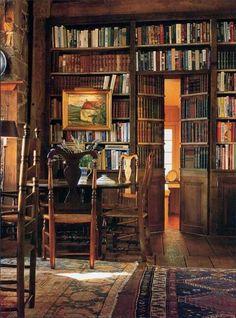 Sonho de todo amante de livros!
