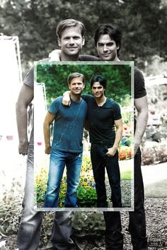 I put this in Art because it shows Alaric and Damon, two people who are just so great and it is sad because Alaric died and Damon fell in love.