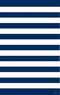 // navy & white stripes