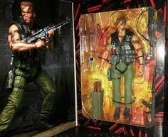 NECA Commando Scale 30th Anniversary Ultimate John Matrix Action Figure  #arnoldschwarzenegger  #schwarzenegger  #figuras #ação #figures